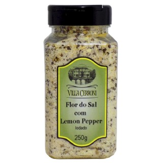 Flor do Sal com Lemon Pepper - Villa Cerroni - 250 g